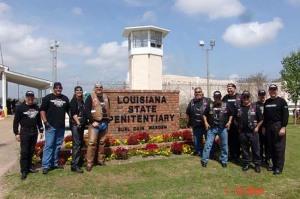 Fellowship Riders Lubbock Visit Angola Prison